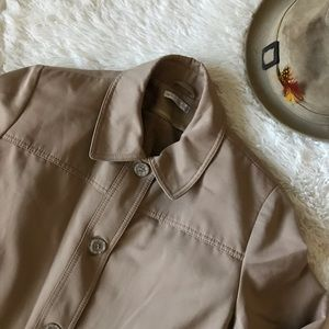 Vintage Forecasters International Khaki Trench
